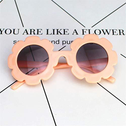 ss Childrens Kids Cute Style Sonnenblumen Brille Anti-UV Sonnenbrille Sommer Outdoor Spielzeug Unisex Jungen Mädchen ()