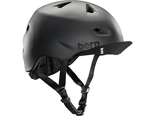 Bern Brentwood Summer Flip Visor Casque vélo Urbain Homme Noir Mat, S/M