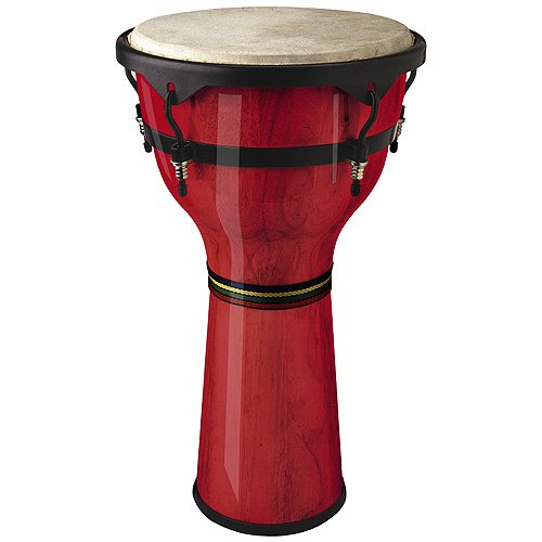 STAGG DWM 12 R DJEMBE EN BOIS 12 RED