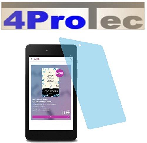 4ProTec 2X Crystal Clear klar Schutzfolie für Medion LifeTab E6912 E-Tab Premium Displayschutzfolie Bildschirmschutzfolie Schutzhülle Displayschutz Displayfolie Folie