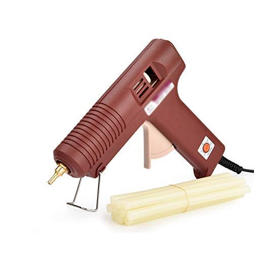 Hong Tai Yang Heißkleber Pistole mit 10/30 Klebestift 100W Industriequalität elektrische Heißkleber Pistole schnelle Aufheiztechnologie, geeignet für DIY Kunsthandwerk Dekoration, zu Hause schnelle Re