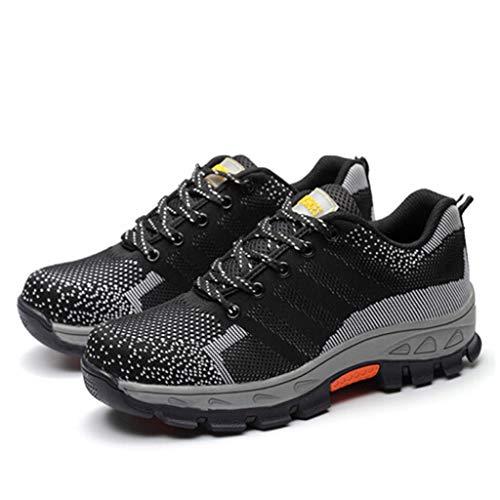 dcfa8f2cc5c4c8 CG Chaussures de Travail pour Homme, Antidérapante Embout Acier Semelle  Anti-Perforation Acier,