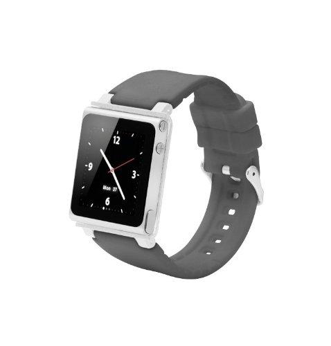 FionaFu Handschlaufe für iPod Nano 6G (OEM) (Grau) (Uhren Ipod)
