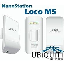 Ubiquiti 0000070700985 - Punto acceso exterior nanostation loco m5