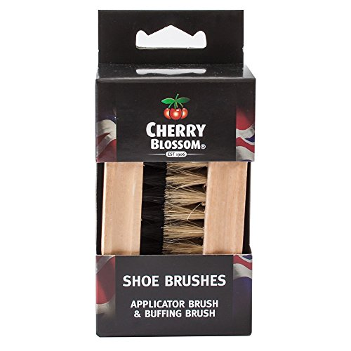 cherry-blossom-twin-brushes-pure-bristle-soft-shoe-boot-polish-brush-set-non-scratch
