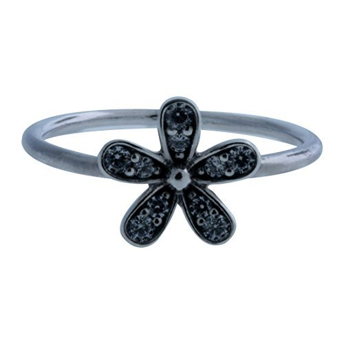 Pandora Damen-Ring Glanzvolles Gänseblümchen 925 Silber Zirkonia weiß Gr. 54 (17.2) - 190932CZ-54