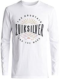 Quiksilver Ls Classic Mad Wave Tee Shirt à Manches Longues Homme