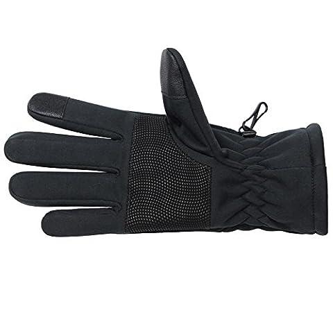 Softshell Sporthandschuhe SMART WOOLF von Alpidex Running Handschuhe Unisex Sport