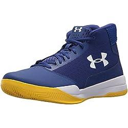 Under Armour UA Jet Mid, Zapatos de Baloncesto para Hombre, Azul (Formation Blue), 42 EU