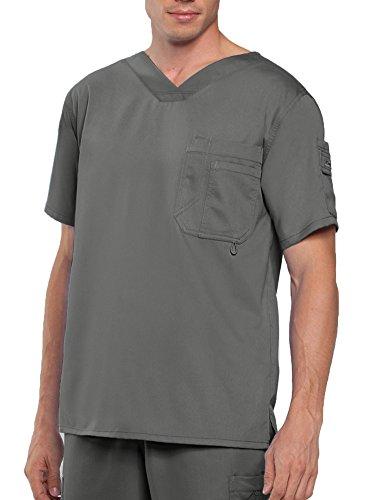 Barco Grey's Anatomy 0107 Herren-Top mit V-Ausschnitt - Grün - XX-Large - Barco Scrubs