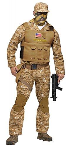 shoperama Kostüm Navy Seal für Herren und