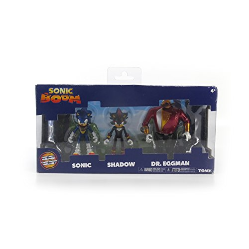 Image of Sonic the Hedgehog Boom 3-Inch Diorama - Sonic Shadow Dr Eggman