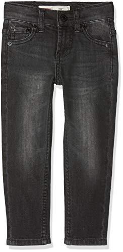 Levi's Kids Jungen Jeans Trousers NM22277 Schwarz (Black 02) 4 Jahre (Herstellergröße: 4A) (Slim Levis 18 Jungen)