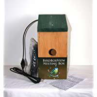 BIRD NESTBOX with WEBCAMERA FOR PC from Birdboxview. 11.5m cables (item includes top quality 10m active repeater usb2 extension lead) Unique Xmas gift for nature/bird lover or family springwatch project! This item is for PC not TV, please see our other items for TV camera nestboxes.