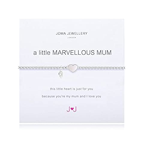 A Little Marvellous Mum Bracelet With Pearl