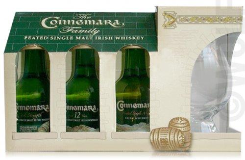 Connemara Connemara Miniaturenset mit Glas