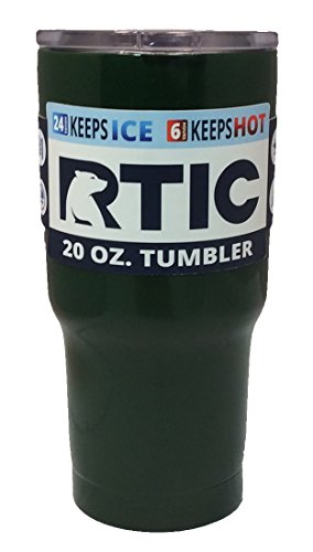 Revestimiento de Polvo de rtic 20oz vaso con tapa