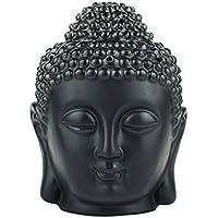 omonic Porzellan ZEN Garten Yoga Meditation Weiß Thai Buddha Statue Kopf ätherisches Öl Brenner Aromatherapie... preisvergleich bei billige-tabletten.eu