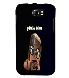PrintDhaba Padhaku Baccha D-4692 Back Case Cover for MICROMAX A110Q CANVAS 2 PLUS (Multi-Coloured)