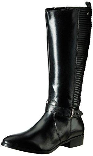 Hush Puppies Women's Jemimah Black Leather Boots - 3 UK/India (36 EU)(5046952)