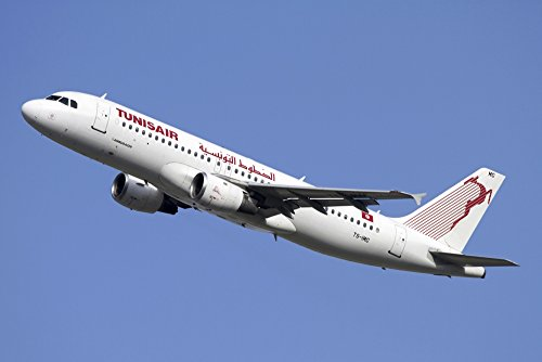 Luca-NicolottiStocktrek-Images--Airbus-A320-of-Tunisair-airline-Photo-Print-8687-x-5791-cm