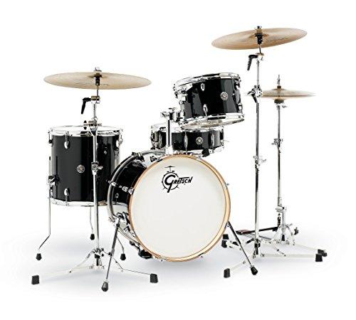 Gretsch Catalina Club Schlagzeug-Set, 4-teilig, Piano Black (Gretsch Drum Set)