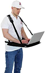Laptop Supporter Inventur Notebook Tablet Supporter Laptop Bauchladen Laptop Halter XL für 15-18″