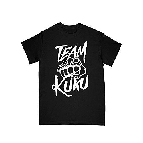 Team KUKU T-Shirt Logo schwarz, Gre:L