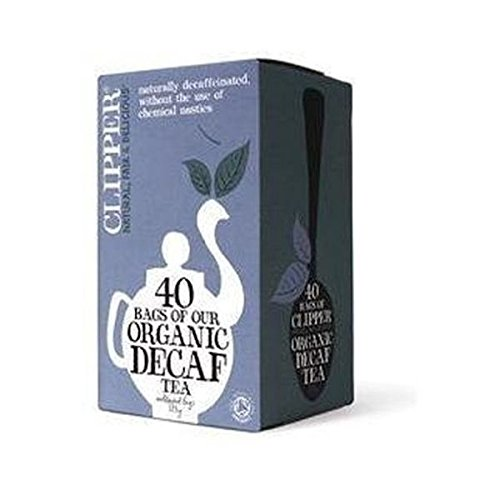 A photograph of Clipper organic everyday decaf
