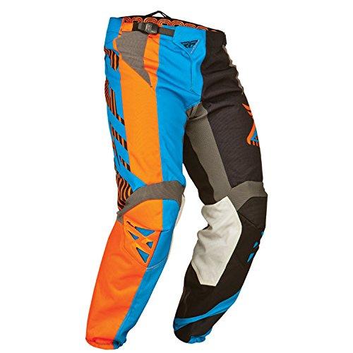 Fly 2015 Motocross / MTB Hose - Kinetic Division Sw-bl-orange: Größe Hose: 34 (EU 50) Fly Motocross Hose