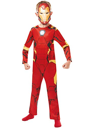 Rubie 's 640829l Offizielles Marvel Avengers Iron Man Classic Kind costume-large Alter 7-8, Höhe 128 cm, Jungen, one size