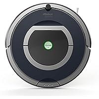 iRobot Roomba 785 - aspiradoras robotizadas (Gris, Plata, Sin bolsa, Alfombra,