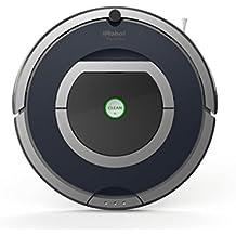 iRobot Roomba 785 - aspiradoras robotizadas (Gris, Plata, Sin bolsa, Alfombra, Clim, 60 Db, Níquel-Hidruro metálico (NiMH), 120 m²)