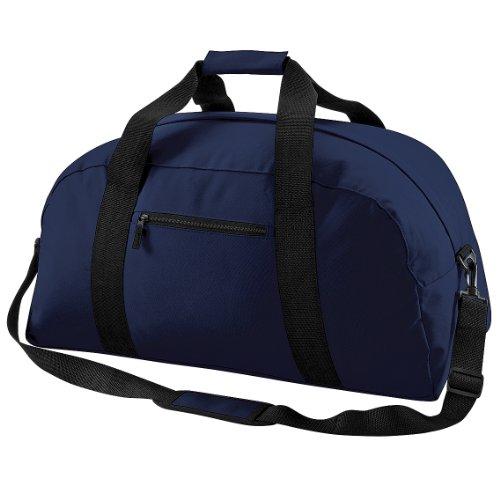 BagBase - Borsone di Tela Blu navy