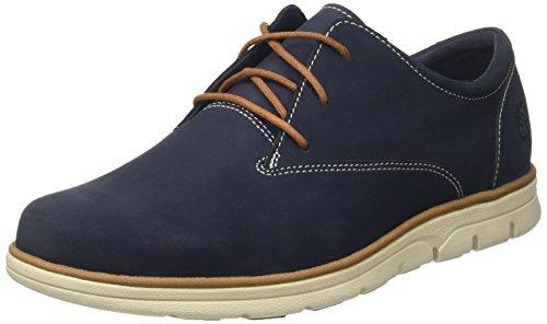 timberland-bradstreet-plain-toe-zapatos-oxford-hombre-azul-black-iris-nubuck-42-eu