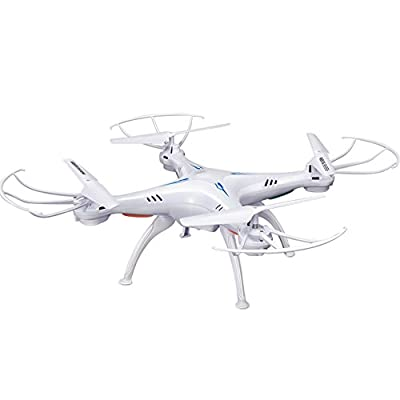 oofay Drone And HD Camera Four Axis Aircraft Headless Mode 6 Axis 2.4G Gyroscope 2 Million Pixels HD Video Remote Control Aircraft Drone White