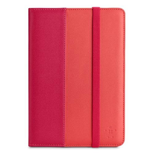 Belkin Schutzhülle mit Riemenverschluss und Standfuß (geeignet für iPadmini Klassische) pink