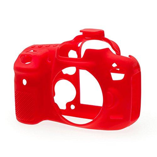 easyCover by BILORA ECC7D2R Schutzhülle für Canon 7D Mark II Rot