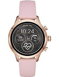 Michael Kors Damen-Smartwatch mit Silikon Armband MKT5048