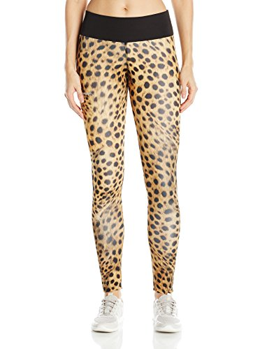 Desigual Damen 71K2SA26095L Leggings, Amber Gold, L (Gold Damen Leggings)