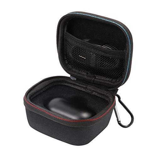 2019 Neuestes !!! Portable Silikonhülle für Samsung Galaxy, Bloodfin Anti-Shock Kopfhörerhalterung Hülle Schutzhülle Schützende Zubehör Reisetasche Stoßfeste Case Tasche Replacement Schwarz (Schwarz)
