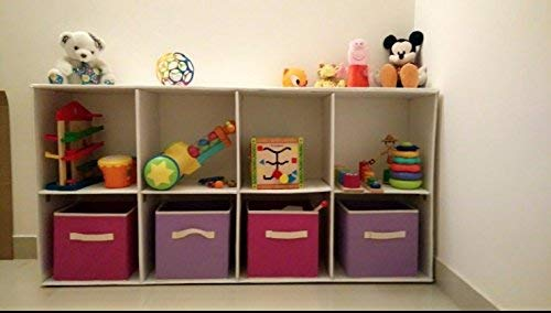 Uberlyfe Brown 3pc Kids Toy Storage Box (KSB-1003-CUB-BR3PC)