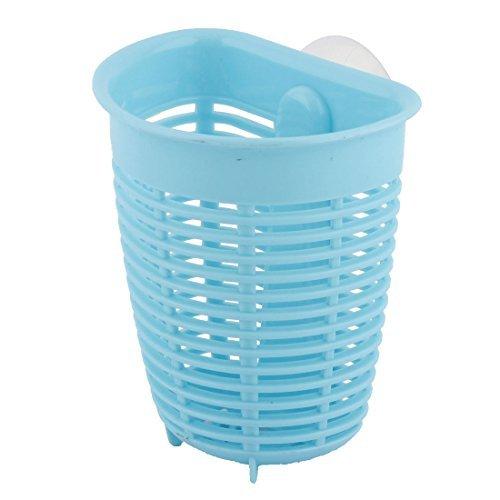 DealMux Küche Badezimmer Saugnapf Kleine Gegenstände Seife Zahnbürste Geschirr ablassen Speicher-Korb (Speicherkorb Kleiner)