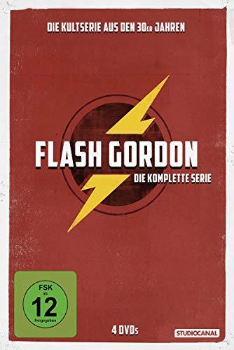 Flash Gordon - Die komplette Serie [4 DVDs]