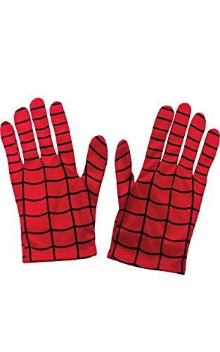 Rubie's Handschuhe, offizielles Produkt, für Erwachsene, Motiv Marvels Spider Man, Einheitsgröße (Marvel Spiderman Kostüm Für Erwachsene)