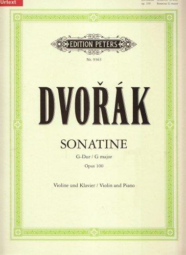 Sonatine G-Dur Op 100. Violine, Klavier