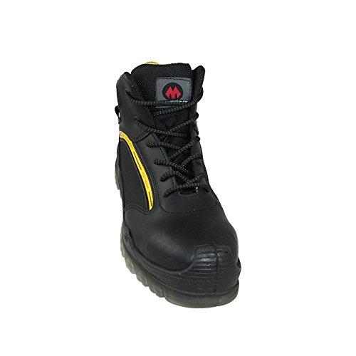 Aimont genius tP s3 sRC chaussures berufsschuhe businessschuhe chaussures de trekking (noir) Noir - Noir