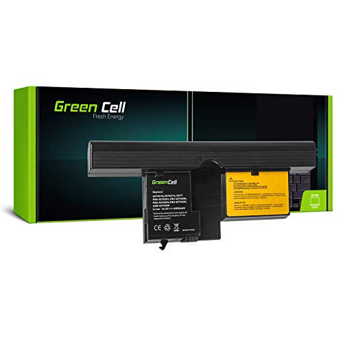 Green Cell® Extended Serie 40Y8318 Laptop Akku für Lenovo IBM ThinkPad Tablet PC X60 X61 X61s X60s (8 Zellen 4400mAh 14.4V Schwarz) - Ibm Thinkpad-notebook-pcs