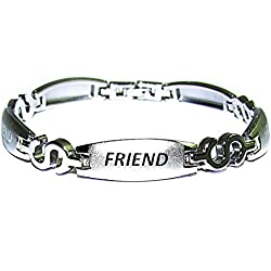 Factorywala Silver Plated Chain Bracelet For Men