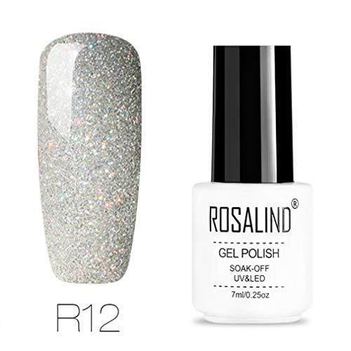 7ml Gel Nail Polish Rainbow Series Soak Off Gel Varnish Semi Permanent UV Gel Lacquer UV LED Primer For Nails Manicure -